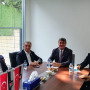 Ahmet Nur Çebi, Serdal Adalı'yı ziyaret etti!